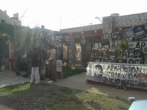 El ex Destacamento de Lomas del Mirador, donde fue visto con vida por última vez Luciano Arruga