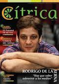 Tapa de la revista Cítrica con Rodrigo De la Serna.
