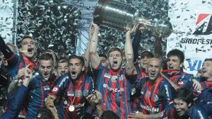 San Lorenzo logró la ansiada copa Libertadores