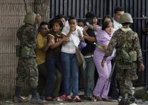 estudiantes hondureños