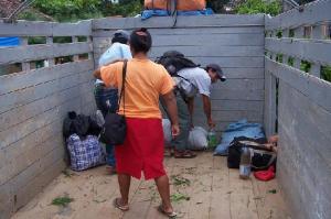 Integrantes de la comunidad Guaraní. (Bolivia) Foto: Nelson Vilca.