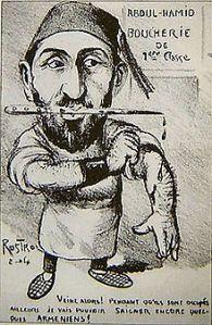 El sultan en caricatura