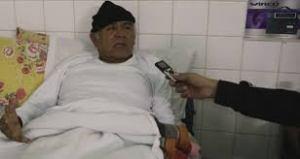 Francisco Chaile al momento de estar hospitalizado.