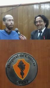 Fabian Tomasi y el Dr Medardo Ávila Vázquez