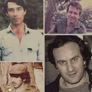 Los cuatro desaparecidos en La Tablada, Carlos Samojedny, Iván Ruíz, José Díaz y Francisco Provenzano.
