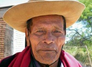 Pedro Palavecino,el último sobreviviente de la masacre de Rincón Bomba. Foto:Diario La Mañana