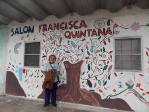 Francisca Quintana, madre de agustín.