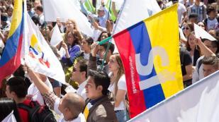 Los que apoyaron el pacto Estado-FARC